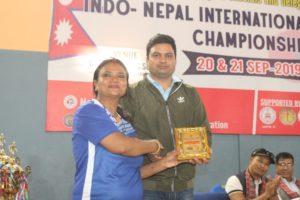 भारत बन्यो टीम च्याम्पियन, नीरा उत्कृष्ट खेलाडी